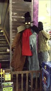 Spirit Halloween Animatronics 2014 by Spirit Halloween 2014 Coat Rack Monster Youtube