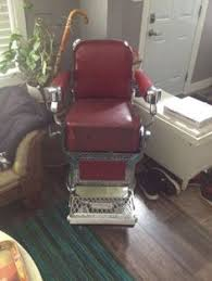 Barber Chairs Craigslist Chicago by Vintage Brown Belmont Barber Chair Antique Barber Chairs