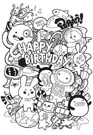 Free To Download Doodle Coloring Pages 12 For Your Gallery Ideas With