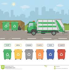 Garbage Truck Stock Illustrations – 2,481 Garbage Truck Stock ...