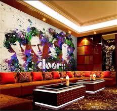 großhandel sondergröße 3d fototapete wohnzimmer schlafzimmer wandbild american rock band ktv 3d bild sofa tv hintergrund tapete vlies aufkleber