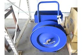 Uline Banding Cart W Tools
