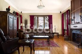 hdr antike wohn esszimmer mit kamin stockfotos freeimages