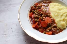 französische küche couscous für kinder mit karotten erbsen