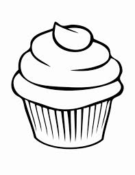Cupcake Drawing Outline Gallery