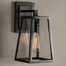 retro outdoor wall lights retro outdoor wall lantern 4 sided