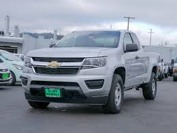 New 2018 Chevrolet Colorado 4WD Work Truck Extended Cab Pickup In ...