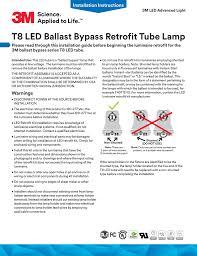 Shunted Bi Pin Lamp Holders by T8 Led Ballast Bypass Retrofit Tube Lamp