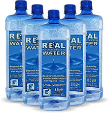 Real Water 1 Liter Bottles Case Of 12