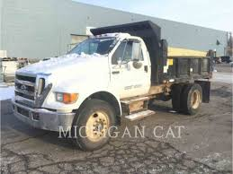 100 Dump Trucks For Sale In Michigan 2007 D F750 Truck 4161 Hours Novi MI 518132