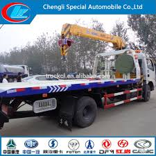 Dongfeng Tow Lift Truck Flatbed Tow Truck Wrecker For Sale - Buy Tow ...