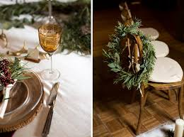Rustic Christmas Wedding Decoration Ideas 00024