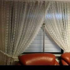 wohnzimmer gardinen fenster dekoration