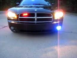 Dodge Charger Police Lights and Sirens