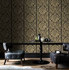 Cinetopia Living Room Overland Park by Black And Gold Living Room Wallpaper