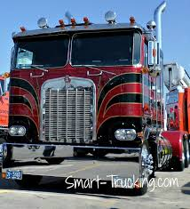 100 Raney Truck Parts Old School Restored Kenworth Cabover Red Black Classic Cars