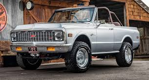 100 Blazer Truck Ringbrothers First SUV Is An LS3Powered 1971 Chevy K5