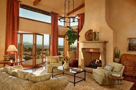 Tuscan Farm House Brasada Ranch Traditional Living Room