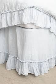 Linen Whisper Bed Skirt Tap image to zoom