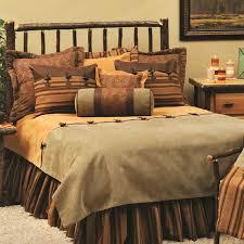 Wooded River Autumn Leaf Duvet Sets Rustic Bedding Quilts Comforter Bedroom