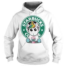 Unicorn Drink Starbucks Coffee Hoodie