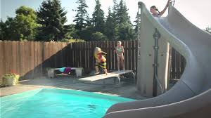 Make Swimming Fun For Your Children By Adding Pool Slides To Your ... 25 Unique Slip N Slide Ideas On Pinterest In Giant Backyard Water Parks Splash Recycled Commerical Water Slides For Sale Fix My Slide Diy Backyard Outdoor Fniture Design And Ideas Residential Pool Pools Come Out When Youre Happy How To Turn Your Into A Diy Pad 7 Genius Hacks Sprinklers The Boy Swimming Pools Waterslides Walmartcom N But Combing Duct Tape Grommets Stakes 54 Best Images Summer Fun 11 Infographics Freeze