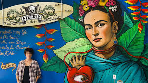 Famous Street Mural Artists by The Best Street Art Mural I U0027ve Painted Frida Kahlo And Diego