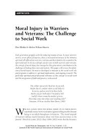 Dsm 5 Desk Reference Pdf by Moral Injury In Warriors And Veterans The Challenge To Social