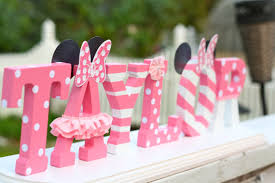 Custom Wood Letters for any occasion by Vanessa Grant Events