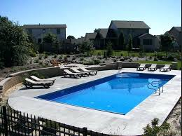 Average Swimming Pool Size Home What Is The