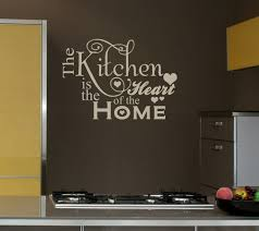 Kitchen Is Home Wall Art Decals For Decoration Ideas