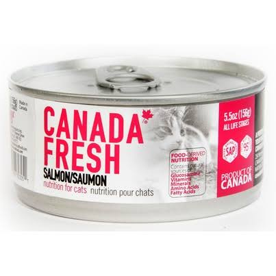 Petkind Pet Products Canada Fresh Cat Salmon 5.5 oz