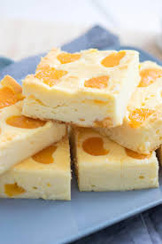 kleiner quark käsekuchen mit mandarinen