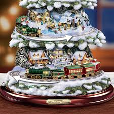 Thomas Kinkade Christmas Tree Village by Thomas Kinkade Christmas Trees Best Christmas Gifts