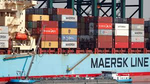 100 Shipping Container Shipping Maersk Warns Shipping Faces More Pain From Trade War