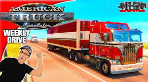 100 Bj And The Bear Truck American Simulator Mods Kenworth K100 BJ And The Weekly
