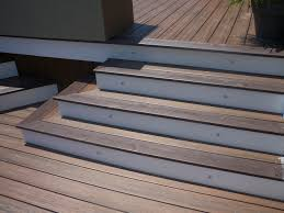composite decking used as stairs search deck