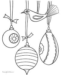 Drawn Christmas Ornaments Color 10