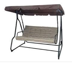 High Quality Three Seats Garden Swing Chair