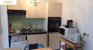 travaux cuisine pose d une cuisine aménagée dans un appartement à deauville par la
