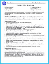 Correctional Officer Resume Getessay Biz SBP College Consulting