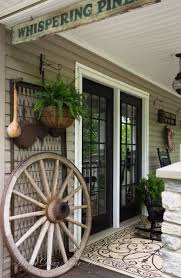 Primitive Decorating Ideas For Outside by Best 25 Country Porch Decor Ideas On Pinterest Screen Porch