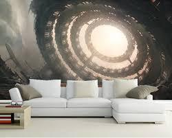 die benutzerdefinierte 3d wandbilder 3d cosmonauts technik fantasie sci fi fantasie tapeten wohnzimmer sofa tv wand schlafzimmer tapeten