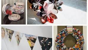 Recycled Magazines Craft Ideas