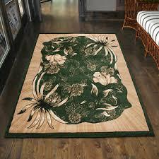 details zu teppich wohnzimmer klassisch blumen grün design läufer 200x300 300x400 mehr