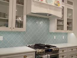 American Olean Glass Tile Trim by Rocky Point Tile Seafoam Arabesque Glass Mosaic Tiles For 23 99