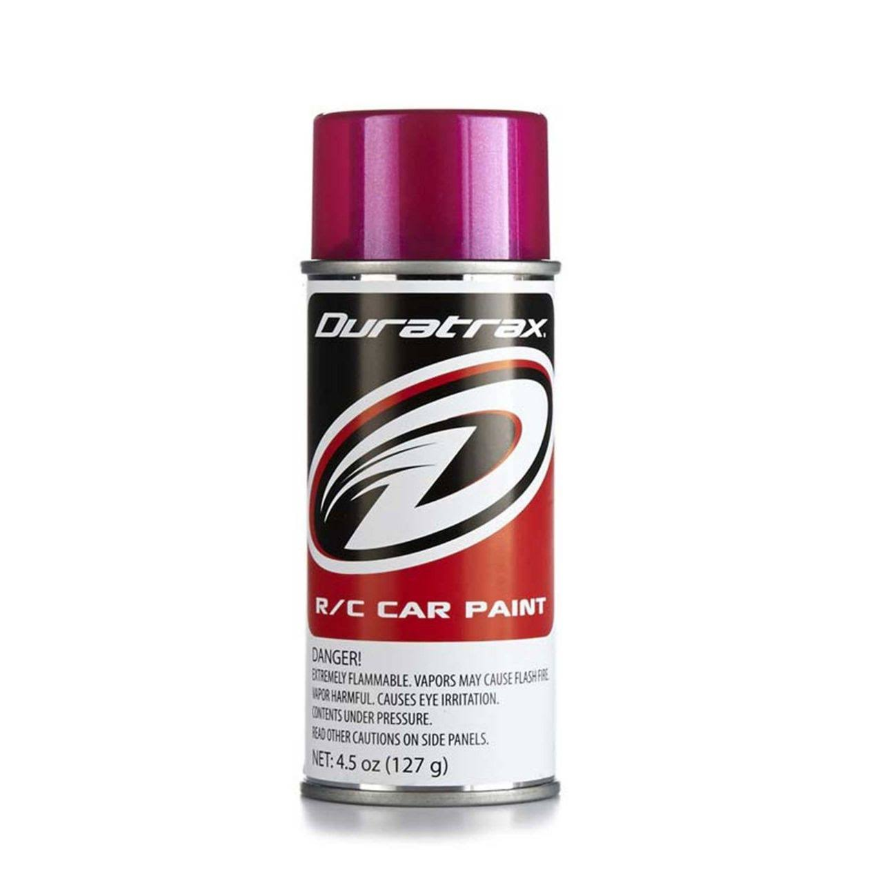 Duratrax Polycarbonate Radio Control Vehicle Body Spray Paint - 4.5oz, Metallic Burgundy