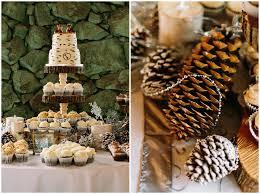 Reception Tables James Stokes Winter Wedding Cake Decor
