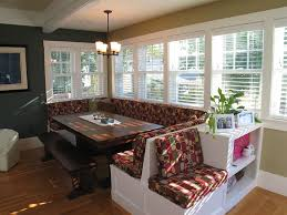 Eat In Kitchen Booth Ideas by A Nice Large Breakfast Nook Do You Think I Could Seat 8 Here Any
