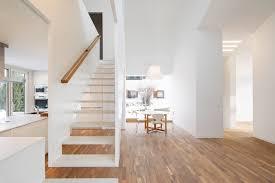 haus k offener wohnbereich modern treppen köln